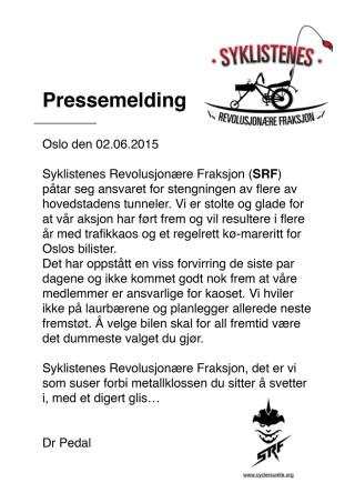 Pressemelding_Oslo_Tunnelaksjon2015